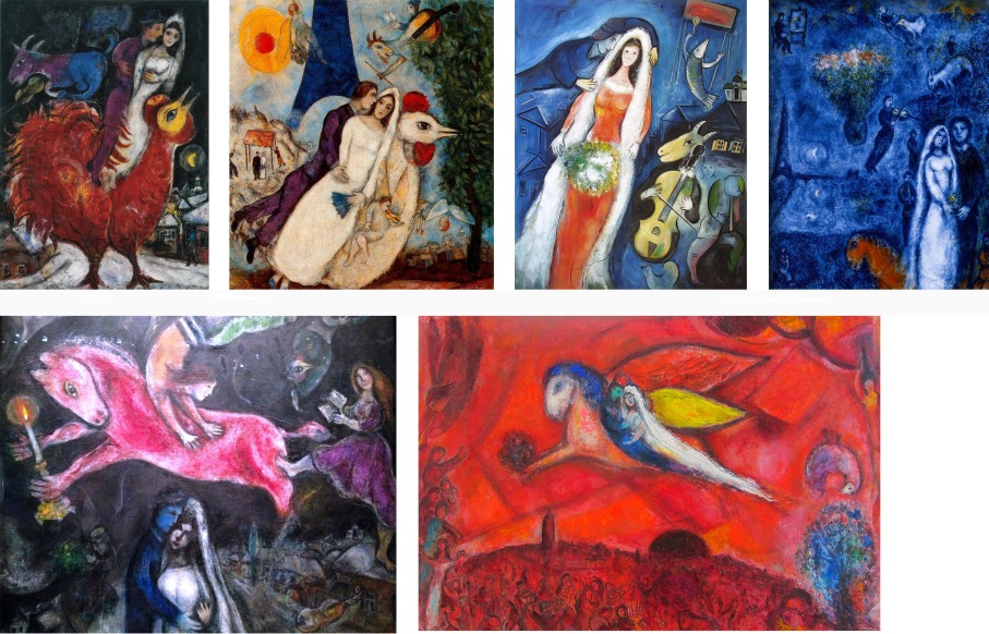 chagall montage